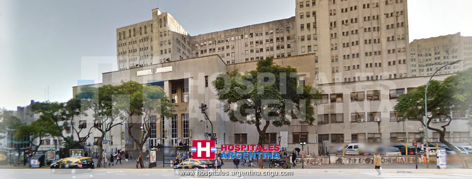 Hospital de Clínicas José de San Martín CABA Ciudad de Buenos Aires