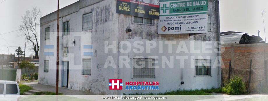 Centro de salud barrio El Tambo Isidro Casanova Buenos Aires