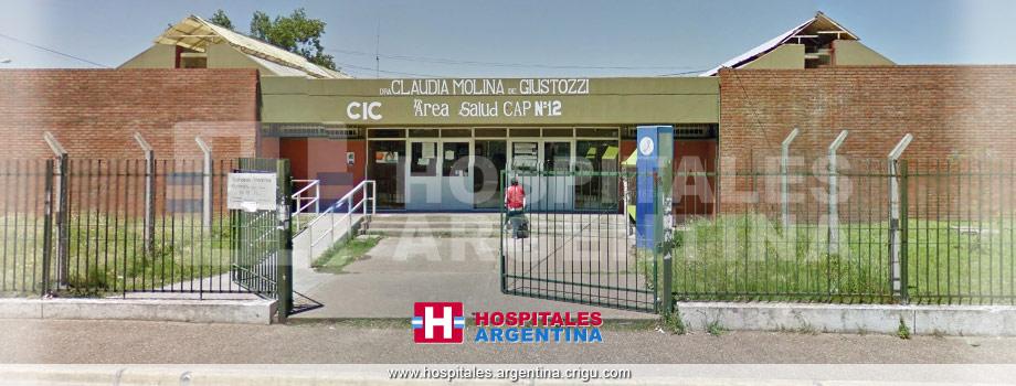 Centro de Salud 12 CIC Claudia Giustozzi Claypole Buenos Aires