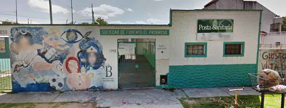 Posta Sanitaria El Progreso Rafael Calzada Almirante Brown Buenos Aires