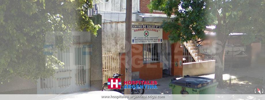 Centro de Salud Barrio Talleres Villa Gobernador Gálvez Santa Fe.