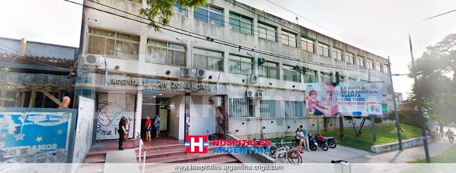 Hospital de Niños zona norte Rosario