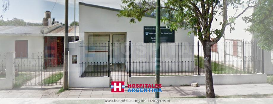 Centro de Salud Nº 5 Dr. Jaime Ferré Barrio Martín M. Güemes Rafaela Santa Fe
