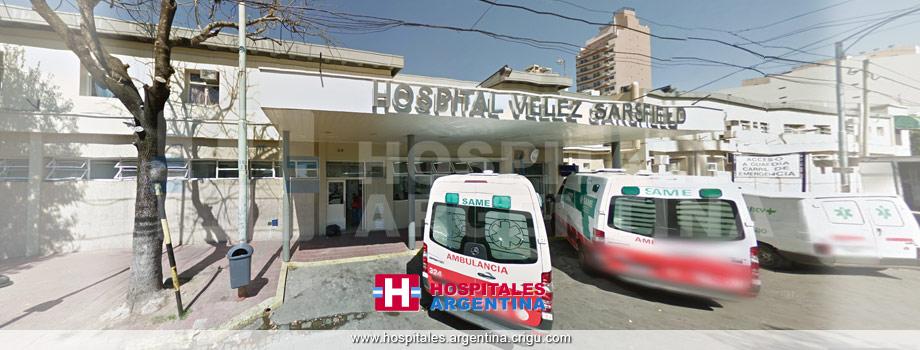 Hospital General de Agudos D. Vélez Sarsfield Ciudad Autónoma de Buenos Aires.