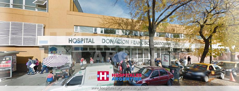 Hospital General de Agudos Donación F. Santojanni Ciudad Autónoma de Buenos Aires