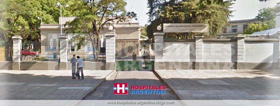 Hospital Torcuato de Alvear Emergencias Psiquiátricas CABA Buenos Aires