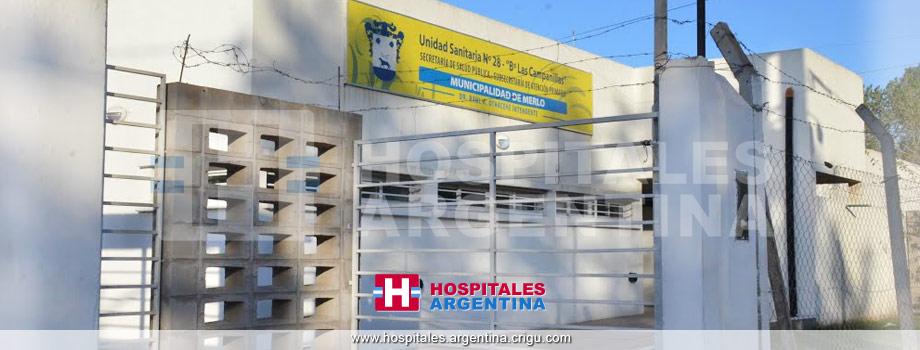 Unidad Sanitaria 28 Las Campanillas Merlo Buenos Aires
