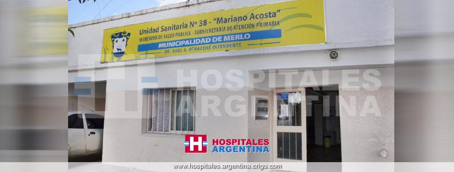 Unidad Sanitaria 38 Mariano Acosta Merlo Buenos Aires