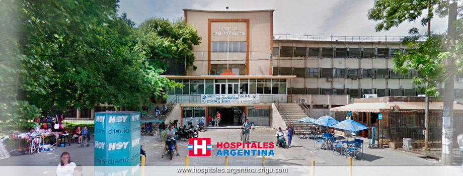 Hospital General San Martín La Plata Buenos Aires