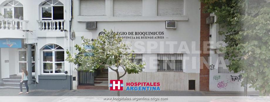 Colegio de Bioquímicos XII La Plata Buenos Aires