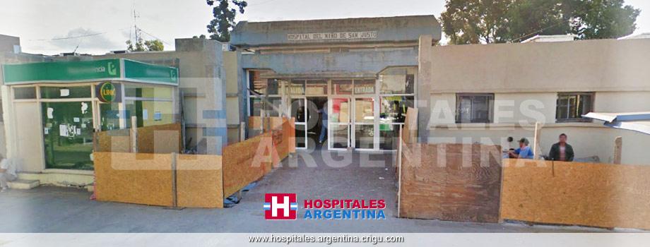 Hospital de Niños San Justo La Matanza Buenos Aires