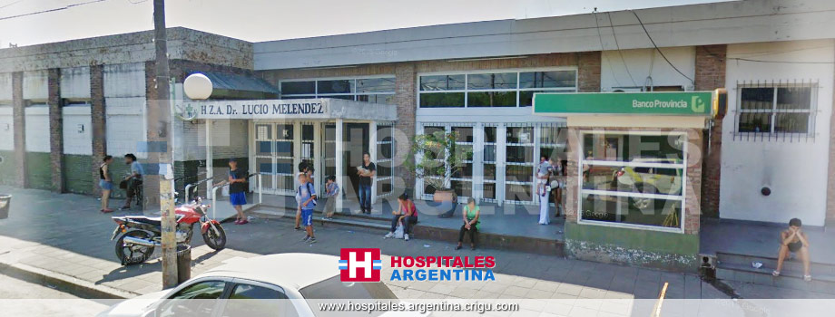 Hospital Dr. Lucio Meléndez Adrogué Buenos Aires
